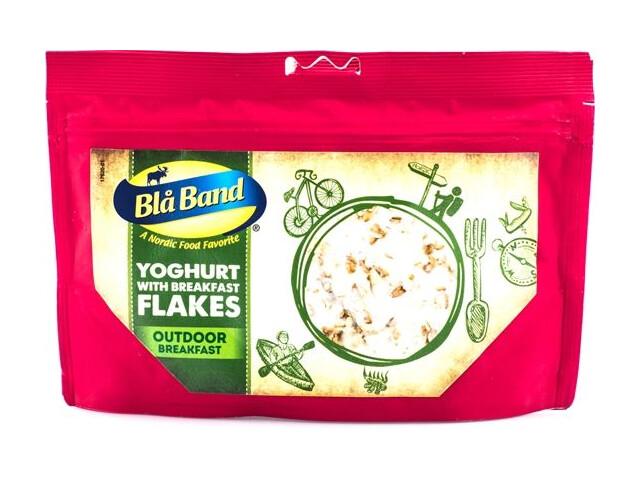 Blå Band Yoghurt med frukostflingor